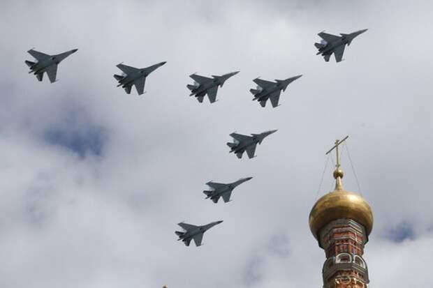 Самолетам сократили дистанцию до Кремля