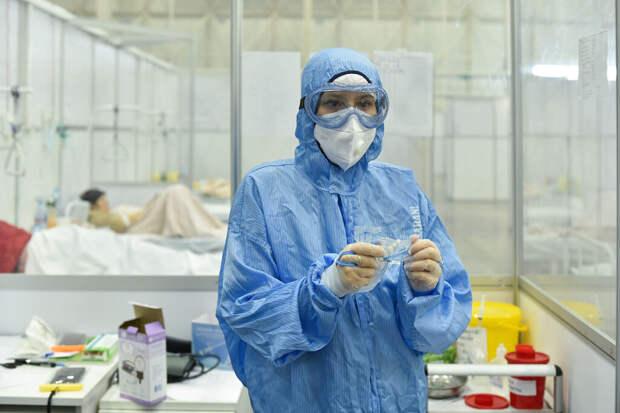 В России за сутки выявлено 24 633 случая коронавируса