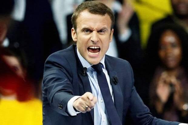 Масштабные протесты в Париже начались после того, как Макрон объявил о создании европейской армии