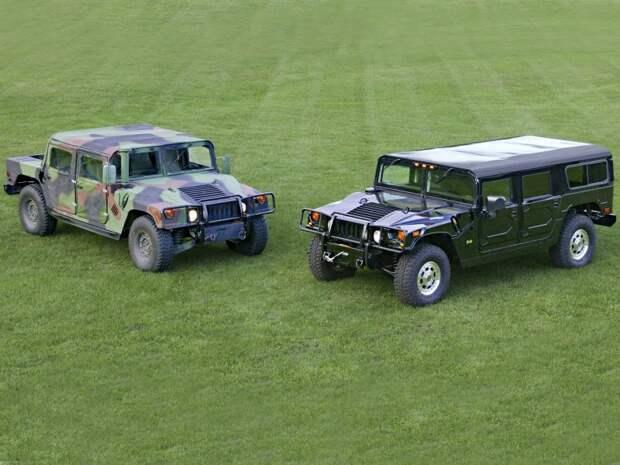 Военный и гражданский HMMWV, hummer, авто, автомобили, внедорожник, военная техника, военный внедорожник, хаммер