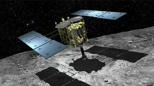Первая попытка сблизиться с астероидом Рюгу обернулась неудачей Наука, Космос, Япония, Неудача