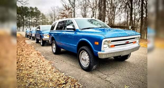 Американец выкупил все авто Chevrolet Tahoe в стиле 60-х