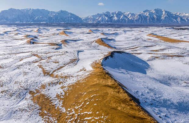 Россия: Забайкальский край, Чарские пески