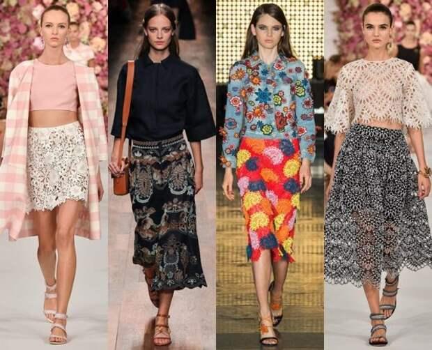 Модные летние юбки 2018 года: тенденции, фото.