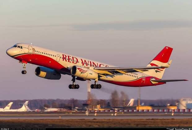 Red Wings выводит Ту-204. Окончательно