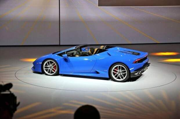 Lamborghini Huracan стал родстером