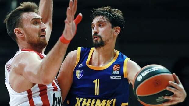 «Химки» одержали первую победу в сезоне Евролиги, обыграв «Црвену Звезду»