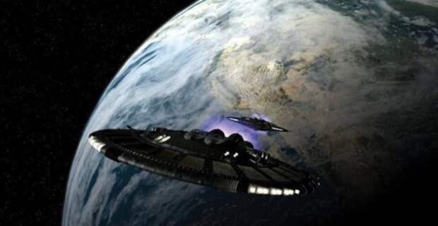 Мониторинг разумно управляемых объектов, «входящих в атмосферу Земли!»