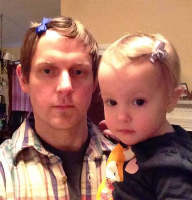 У меня есть дочь, поэтому я прекрасен всегда! дети, красота, отцы, юмор