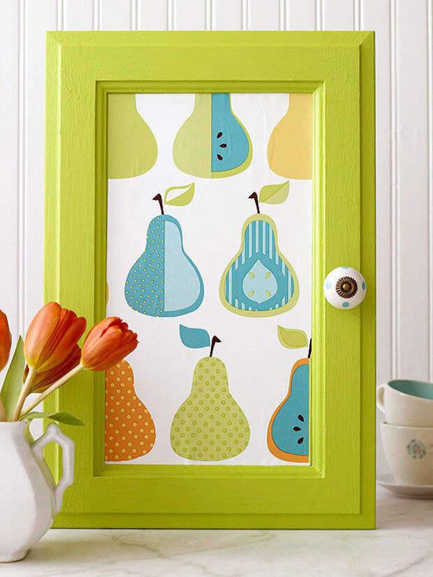 Картина из дверцы тумбочки