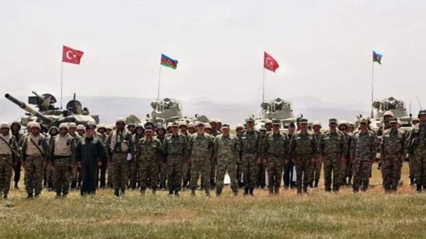 Стал известен состав военной группировки Турции в Азербайджане