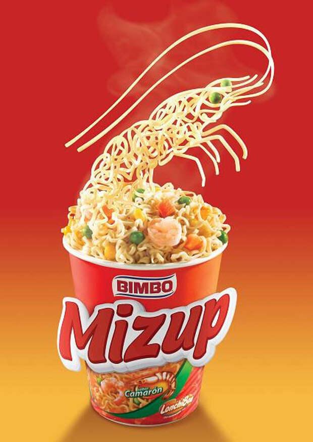 Суповые скульптуры Mizup