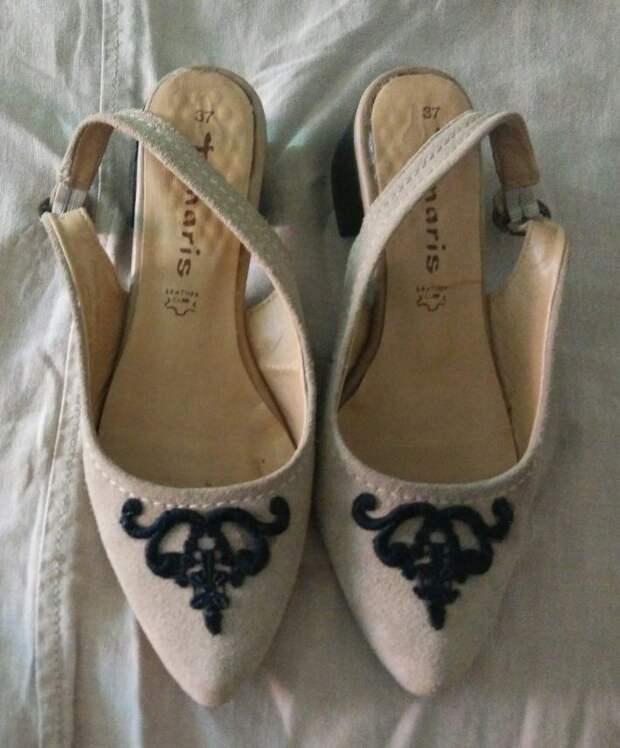 Обновление немодной обуви