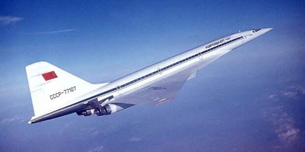 Ту-144. Романтичная эра советской авиации
