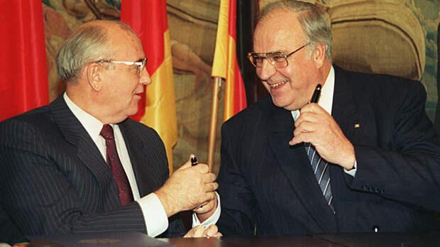 Канцлер Коль аж подпрыгнул: Сколько взял Горбачёв за расширение НАТО