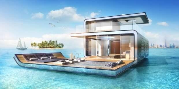 Плавучие дома, в которых многим захочется пожить