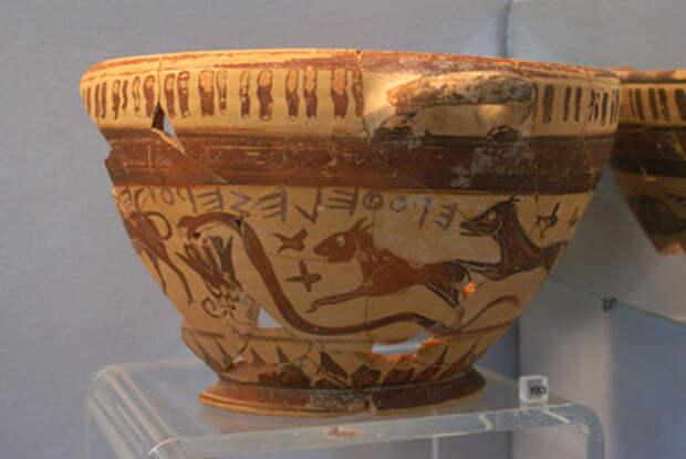 Чаша для вина «прятала» знания древних греков о звездах?