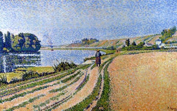 Эрблэ, Ривербанк, 1889. Автор: Поль Синьяк.