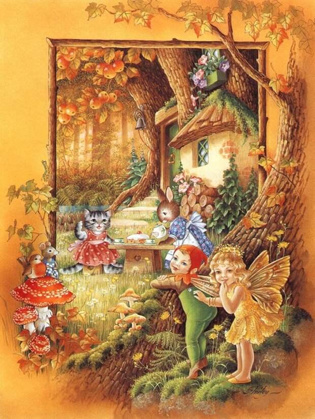 Cказочный мир австралийской детской писательницы и художницы Shirley Barber