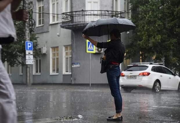 В Краснодарском крае прогнозируют дожди и грозы