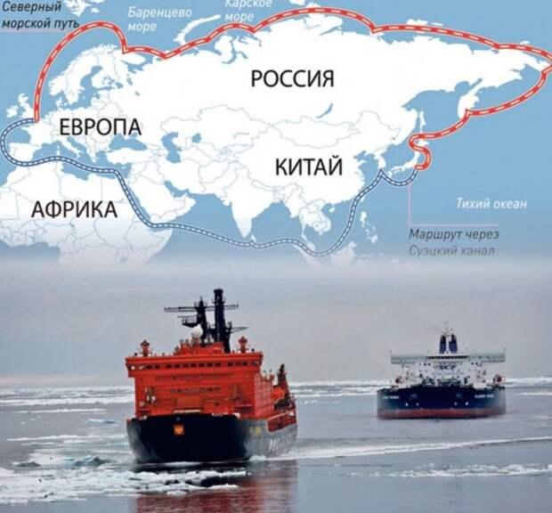 Россия запускает Северный морской путь на полную мощность