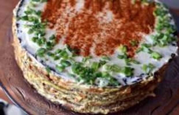 Торт из печени по-сербски от Николы Радишича