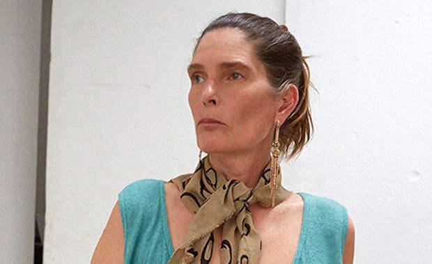 Лесли Винер (Leslie Winer). Возраст: 60 лет. Кампания: Vivenne Westwood.