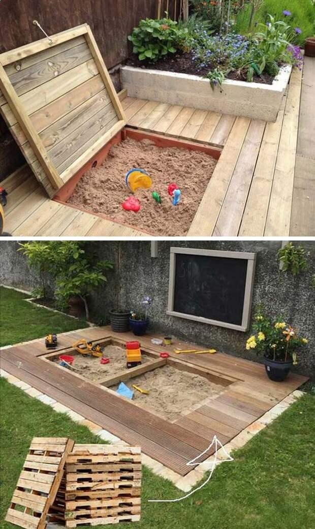 17 симпатичных проектов для детей на свежем воздухе