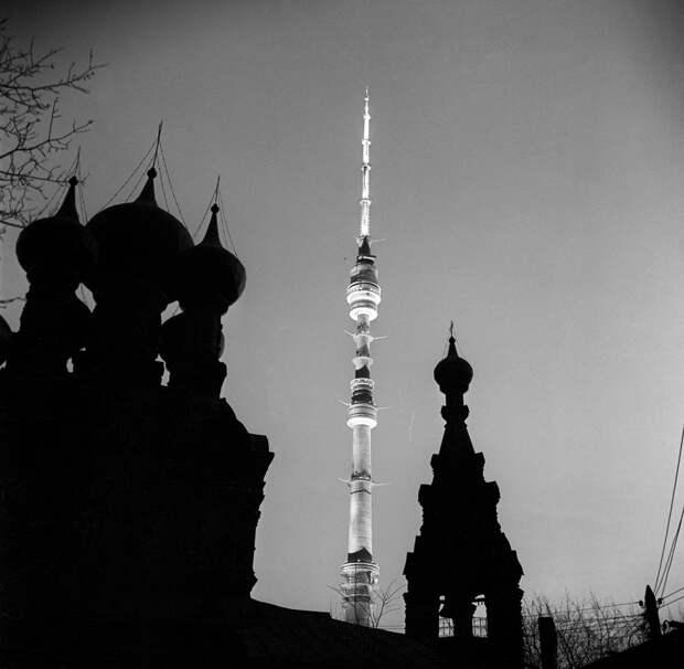 55 лет назад начали строить Останкинскую телебашню