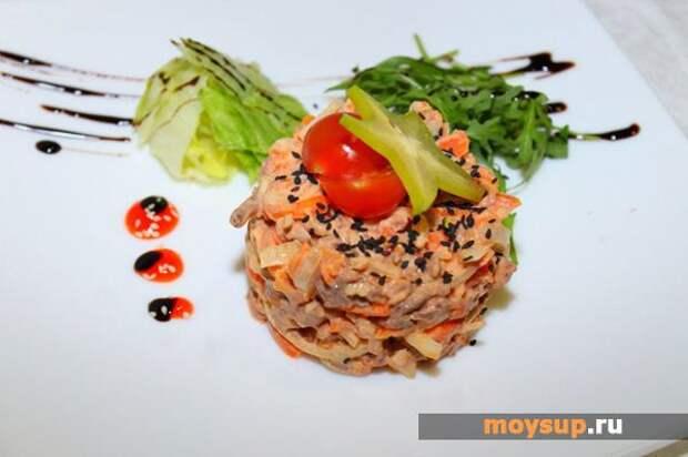 Популярные рецепты пикантных салатов
