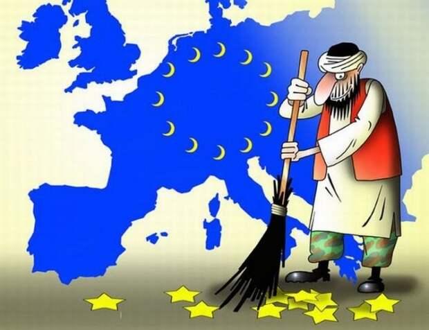 ЕС заставляет Прибалтику приютить беженцев