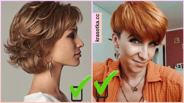 Виды и оттенки окрашивания волос, которое делает лицо худее (+10 фотоидей)