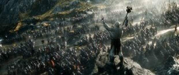только что с Хоббита,Битва пяти воинств.