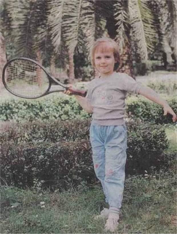 Мария Шарапова. Начало. Сочи, 1990-е.