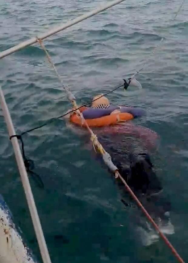Мистический случай: женщину, которая пропала 2 года назад, спас рыбак, заметив еевоткрытом море
