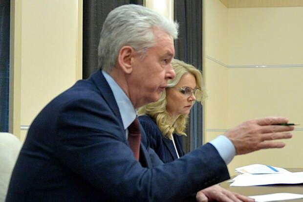 Москва избежит жесткой вспышки коронавируса, надеется Собянин