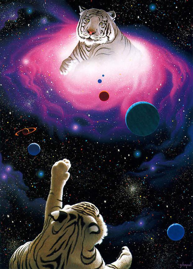 В Галактике – Земля – цветок прекрасный!