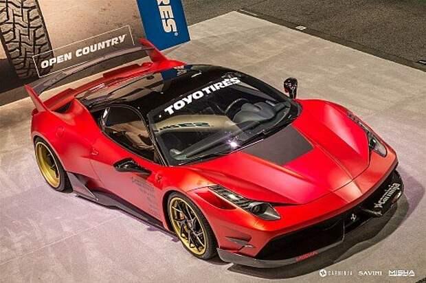 Misha Designs Ferrari 458 Italia: совсем не косолапый мишка (ФОТО)