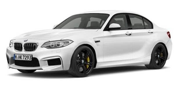 Вариант дизайна BMW Gran Coupe 2-й серии