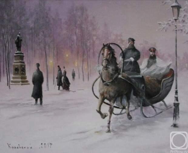 художник Владимир Краевский картины – 70
