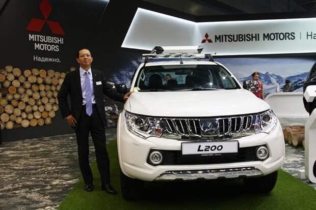 Президент «ММС Рус» Такаи Наоя представил пятое поколение пикапа Mitsubishi L200.