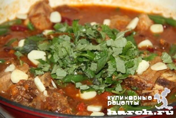 myasnoe ragu s fasoliu tbilissi 10 Мясное рагу с фасолью Тбилиси