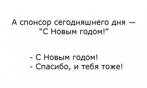 Новогодние анекдоты (11 шт)