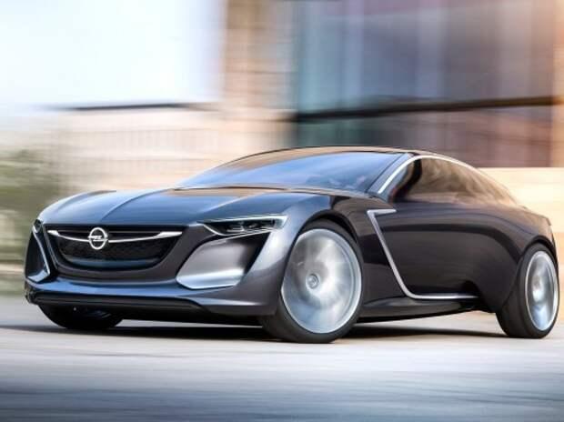 Opel отказывается от седана крупнее Insignia и купе Monza