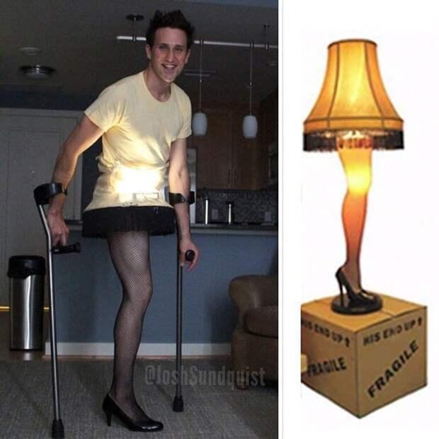 У этого парня только одна нога, но он сделал это своей фишкой