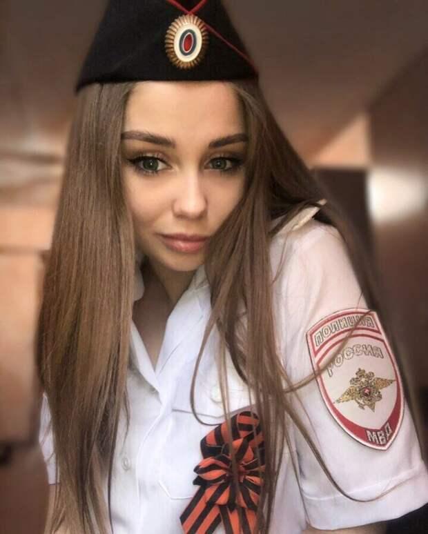 19. девушки, красота, мвд, пилотка, полиция, россия, форма