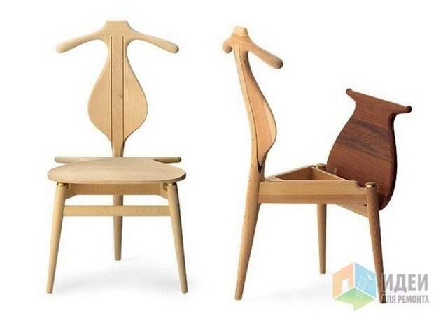Идеи хранения одежды, многофунциональные вешалки, Valet Chair