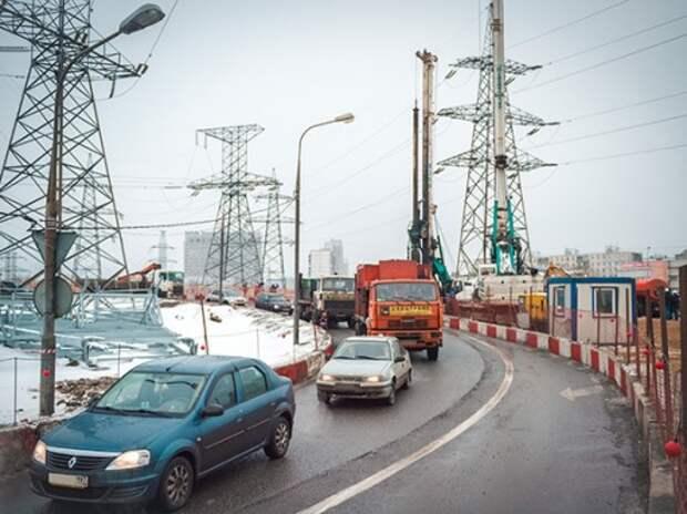 Кризис не повлиял на строительство дорог в Москве