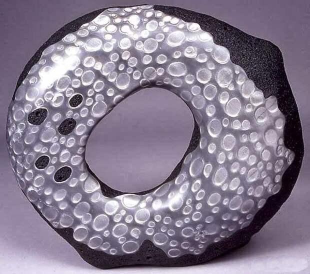 Вазы из полимерной глины от Grant Diffendaffe
