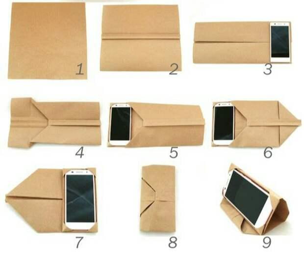 Оригами чехол для смартфона (diy)